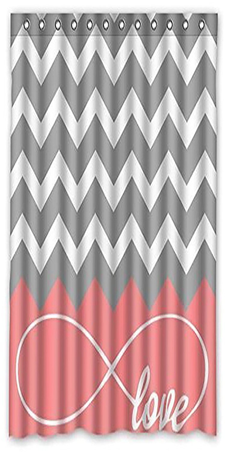 Pink chevron curtains - Chevron Pink Curtains
