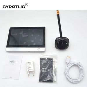 Image 5 - Wireless wifi deurbel met camera digital magic eye door viewer camera with motion sensor for home security