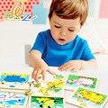 Aglomerados de madeira Puzzles Brinquedos Dos Desenhos Animados Crianças Infantil Educação infantil De Madeira Puzzle Brinquedos