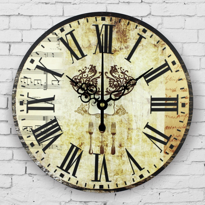 Wall Inch Clock 9