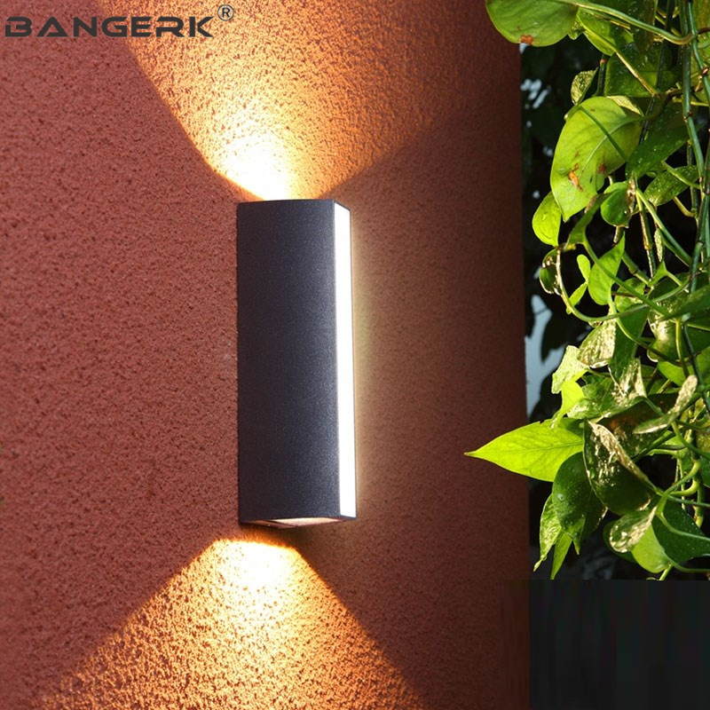 Light Lamps Outdoor Modern Wall Sconce