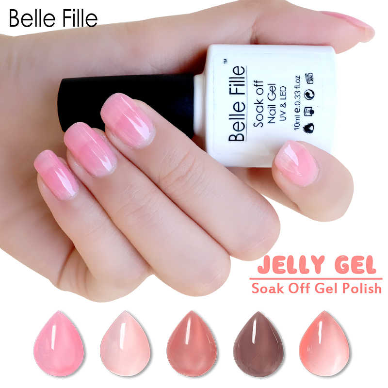 8ae48c3690 Detail Feedback Questions about Belle Fille Purple Gel Nail Polish ...