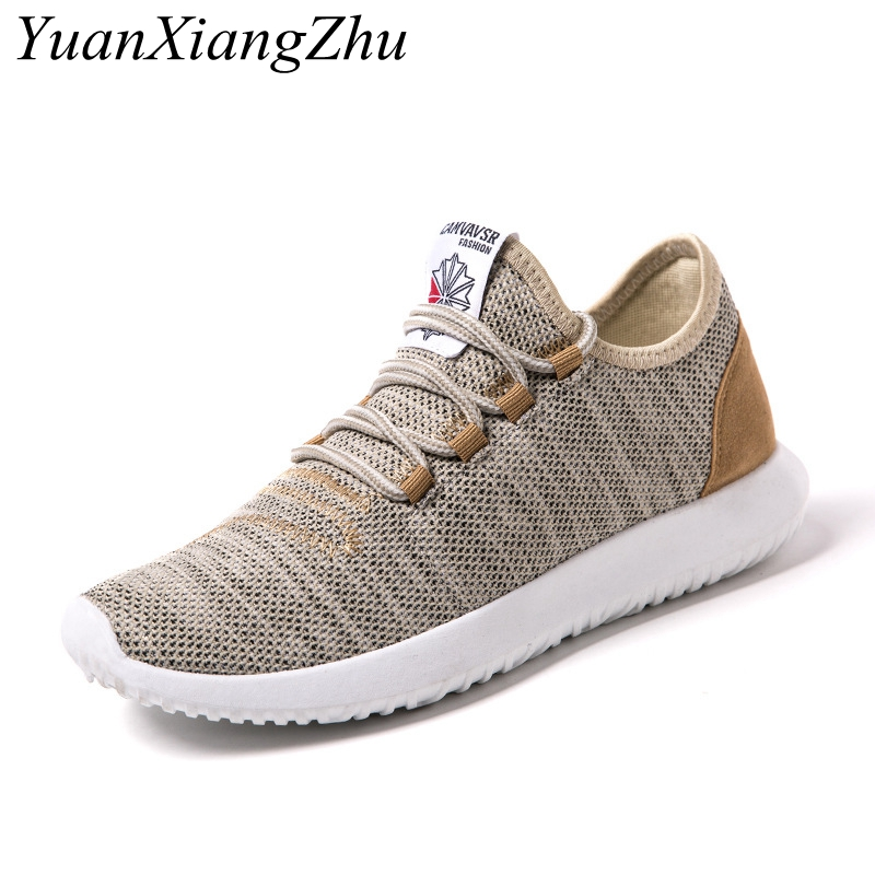 Fashion Summer Shoes Men Casual Air mesh shoes 2018 New Large sizes 38-46 Brand Lightweight Breathable Lace-up Flat men shoes mvp boy brand 2018 new summer mesh air mesh men breathable loafers black shoes spring lightweight fashion men casual shoes