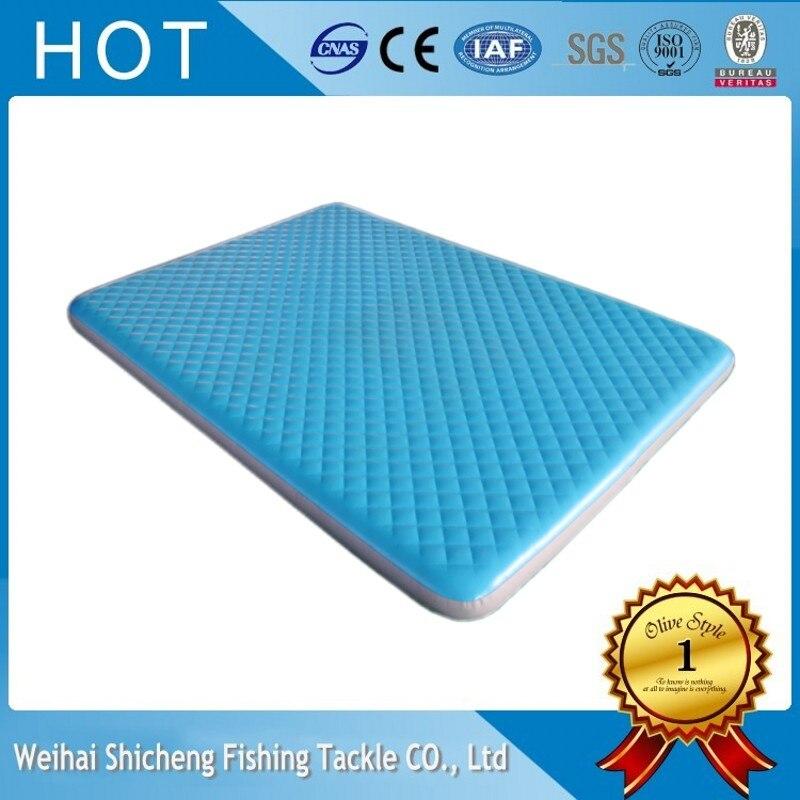 Matelas gonflable en gros d'air de l'eau/matelas d'air de piscine fabriqué en chine