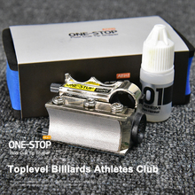 ONE STOP All Functions in 1 Billiard Tip Tool Suit Pool Repair Shaper Change Cue Replacement Accessories