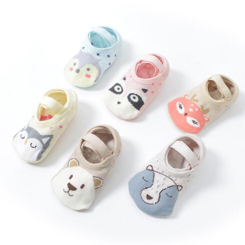 New Cartoon Animal Baby Toddler Socks Non-slip Children's Floor Socks