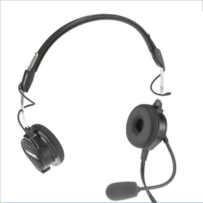 Linhuipad Memory Ear Cushions Pad for Telex airman 750 headset(Black) 1 pair/lot