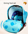 Ребенка сиденье безопасности новорожденный ребенок корзина тип бортовой портативный автомобильный держатель