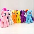18cm Cartoon Kawaii Plush Twilight Sparkle Rainbow Dash Applejack Rarity Fluttershy Pinkie Pie Little Horse Stuffed Plush Toys