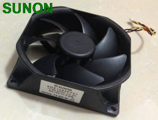 Original SUNON KDE1285PTV1 13.MS.B4061.AR.GN 85mm*25mm 12v. 3.6w 3wire server inverter cooling fan king tea 2012 lao man e golden bud small tuo cha 60g china yunnan menghai chinese puer puerh ripe tea cooked shou cha premium