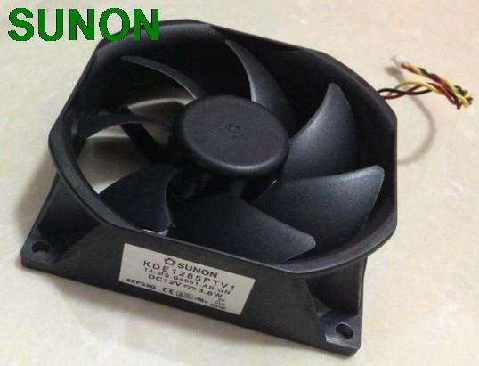 Original SUNON KDE1285PTV1 13.MS.B4061.AR.GN 85mm*25mm 12v. 3.6w 3wire server inverter cooling fan