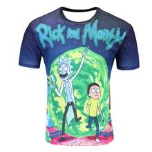 New Fashion Rick And Morty T shirt Women men Harajuku Tee Shirt Printed 3d Cartoon T