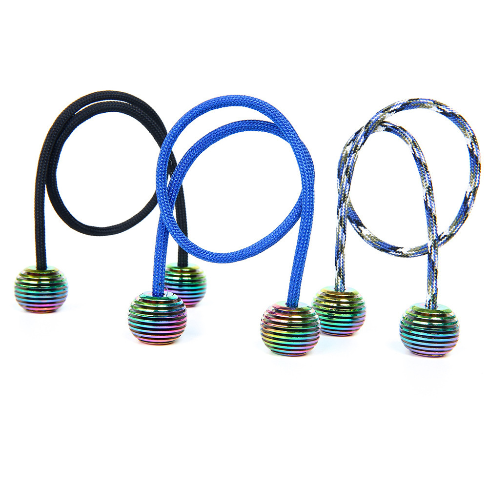 2018 New Aluminum Alloy Begleri YoYo Fidget Toy Colorful Lanterns Worry Beads Finger Skill Anti Stress Extreme Finger Movement