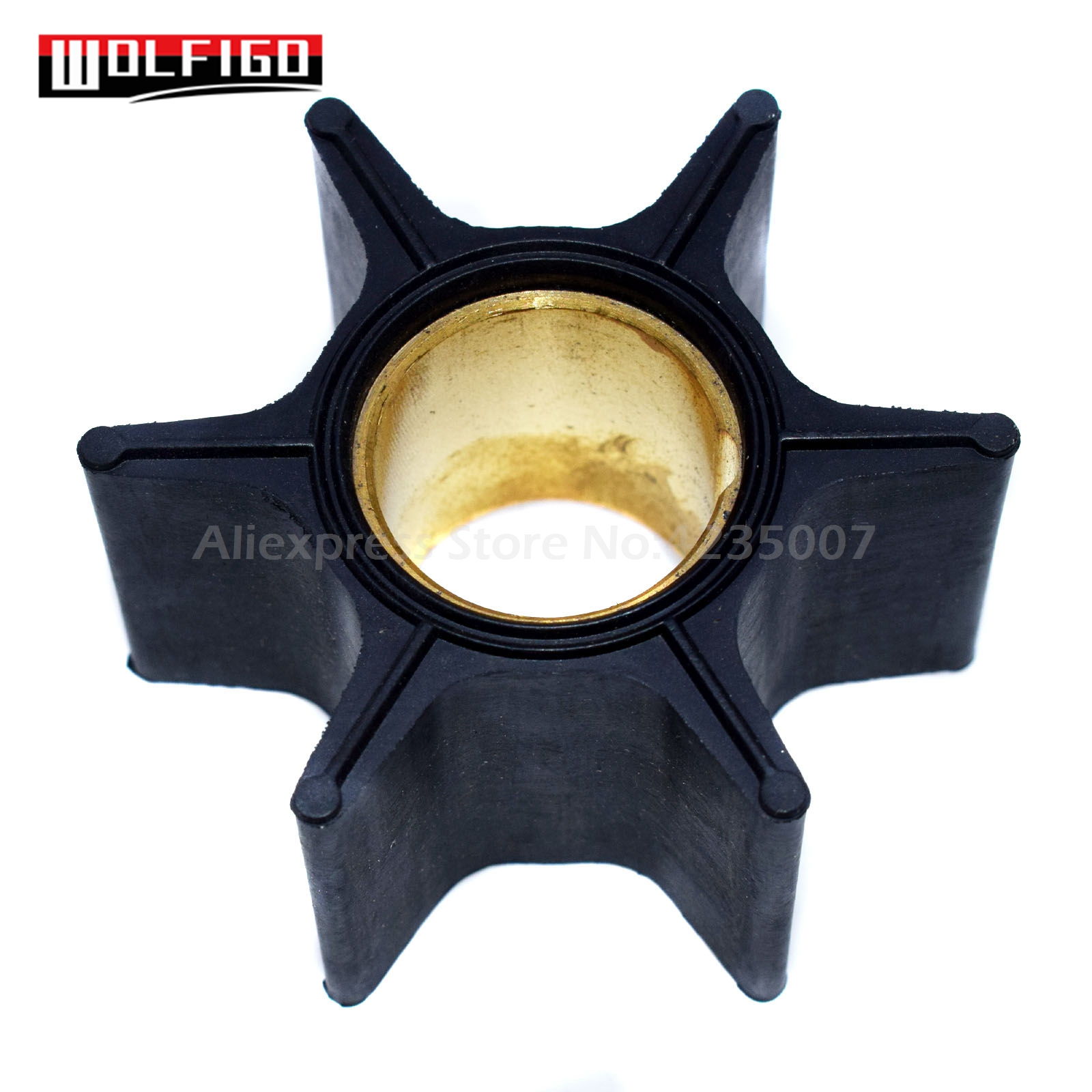 Water Pump Impeller For Mercury MerCruiser 65-225 HP 18-3017 47-89984T4