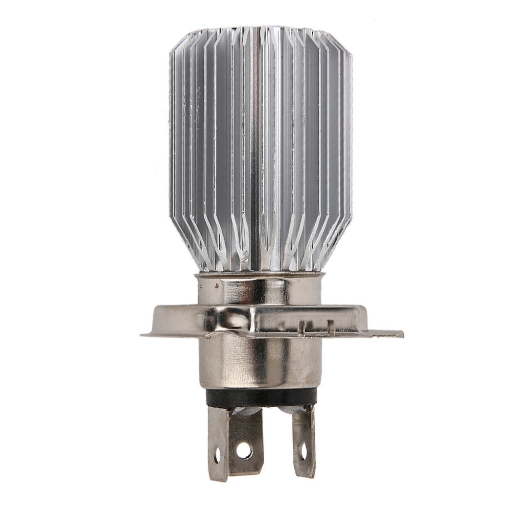 2016 New 800lm H4 White COB LED Hi/Lo Beam Motorcycle Super Bright Headlight Front Light Bulb Lamp DC 6 To 80V 12v led light auto headlamp h1 h3 h7 9005 9004 9007 h4 h15 car led headlight bulb 30w high single dual beam white light