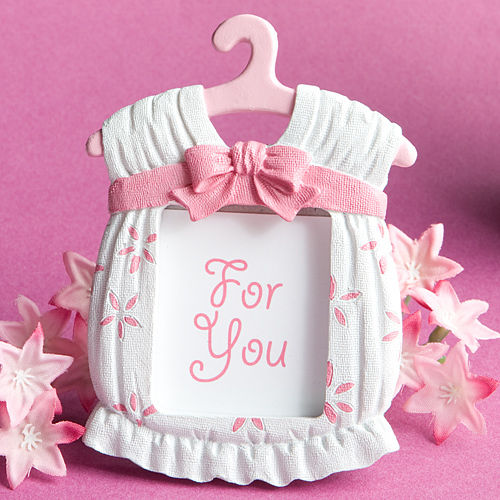 5pcs/lot Baby Shower Favour Cute Baby Girl Picture Frame Pink Pregnancy Mumy To Be Gift