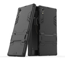 3D Armor Case for Sony Xperia XA1 Plus Dual G3421 G3423 G3412 XZ1 Compact G8441 XZ XZs Phone cover
