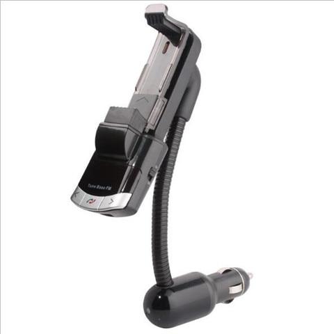 Bluetooth Car Kit Phone Holder Original BT8118 BT Handfree Calling FM Transmitter with USB Charger Support Car Music Playi Multan
