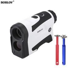 BOBLOV Professional Golf Laser Rangefinder Hunting Range Finder Monocular With Vibrate Distance Correction