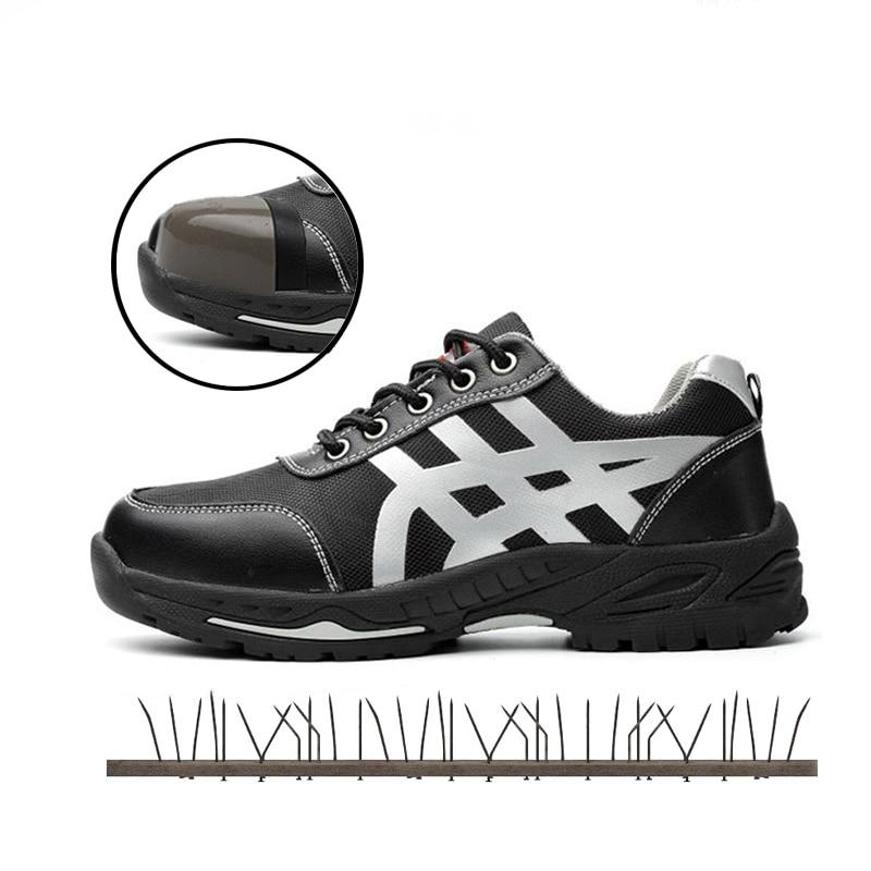 Arbeitsplatz Sicherheit Liefert Ac13022 Sicherheit Schuhe Kappe Stahl Schuh Spitze Edelstahl Schuhe Sicherheit Stiefel Turnschuhe Arbeit Außerhalb Leichte Atmungsaktive Stiefel Atemschutzmaske