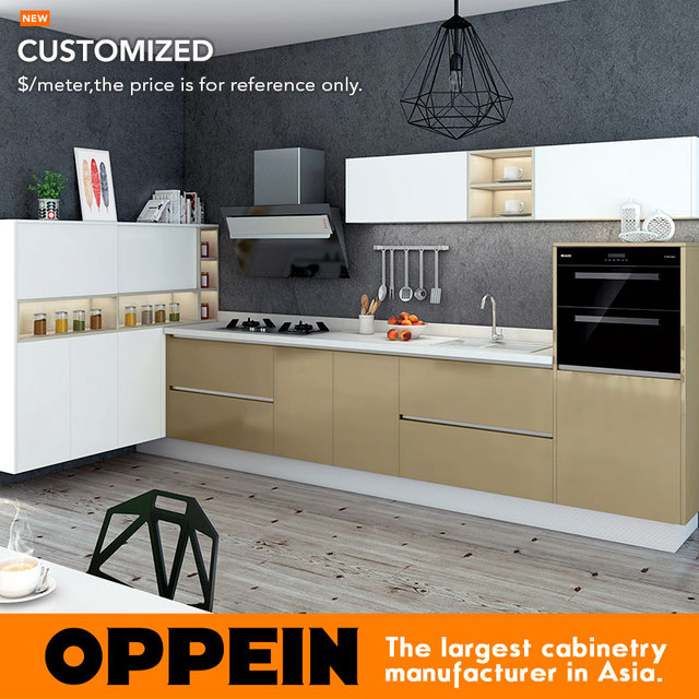 acrylic kitchen cabinets island rustic blum hardware wood grain cabinet modern op16 086