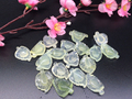 Women Nature Jade small Pendant / mini leaves tree leaf / Storeage Wholesale / Fashion Classic