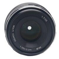Meike MK 35 P Large Aperture Manual Multi Coated Focus Lens APS C For Panasonic Lumix