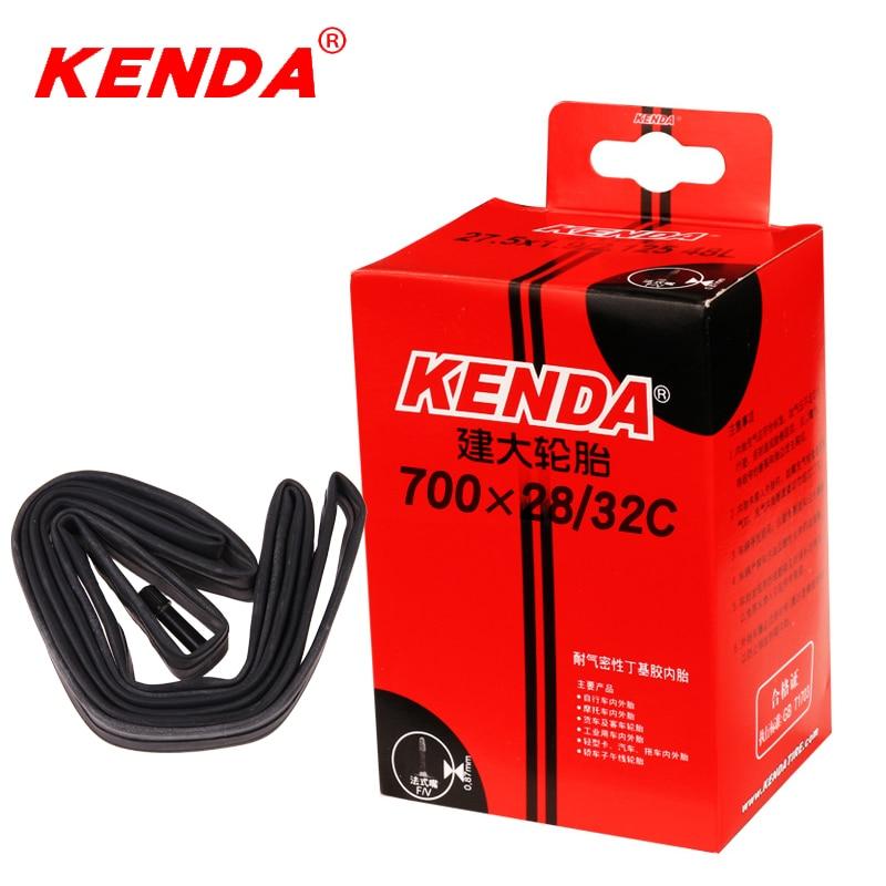Внутренняя труба для велосипеда KENDA 700C camera 700 * 28C-32C Schrader Presta, внутренняя труба для велосипеда 700, камеры для дорожного велосипеда, шины для воздуха 150g 48/60/80L