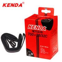 KENDA chambre à air 700C caméra 700 * 28C-32C Schrader Presta chambre à air vélo 700 chambre à air pneu chambre 150g 48/60/80L