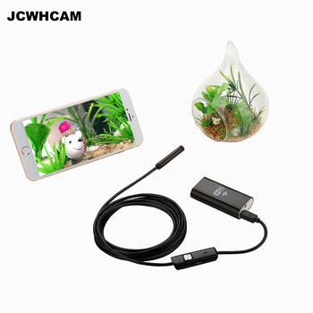 JCWHCAM 8mm 5M Wifi Endoscope Android Camera Borescope HD 720p IP67 Waterproof Inspection IOS For Iphone Endoscope Camera