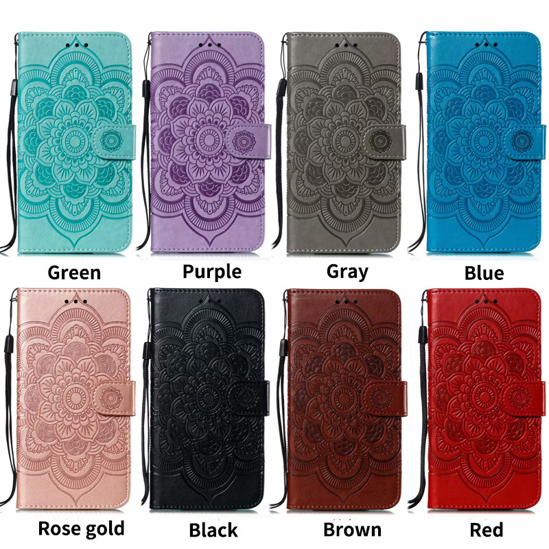 PU Leather Flip in Cases For Motorola Moto G7 Plus Play Power P30 Note P40 One Power Z4 E5 Play GO Case Wallet Stand Cover Coque in Flip Cases from Cellphones Telecommunications