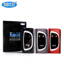 100% Original Sigelei Kaos Sprctrum Mod  10W~230W Fit for 18650 Battery electronic cigarette Atomizer Vaporizer 1Piece / Lot