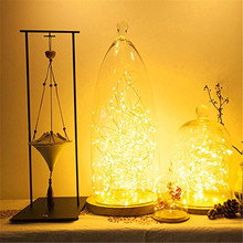LED Fairy Light 2m 5m LED String Light Waterproof Copper Wire Powered by CR2032 Battery for Garland Christmas Wedding Decoration string lights new 1 5m 3m 6m fairy garland led ball waterproof for christmas tree wedding home indoor decoration battery powered