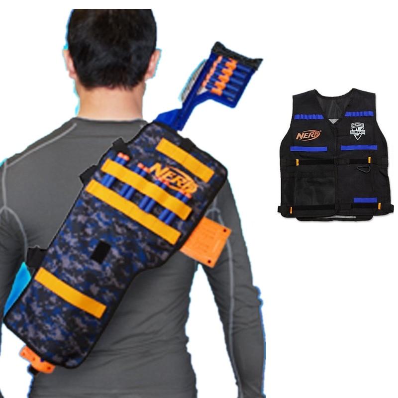 CloverTale 2Pack Target Pouch Storage Bag Portable Double Shoulder Backpack  Children Game Toys Gun Accessories for Nerf Guns Darts N strike Elite M… |  ...