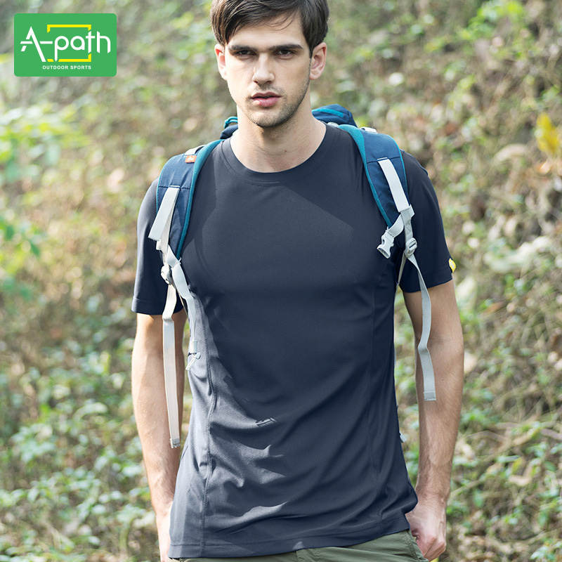 New Summer Man Outdoor T Shirt Sports Jersey Cotton Quick Dry Easy - Sportswear and Accessories - Photo 4