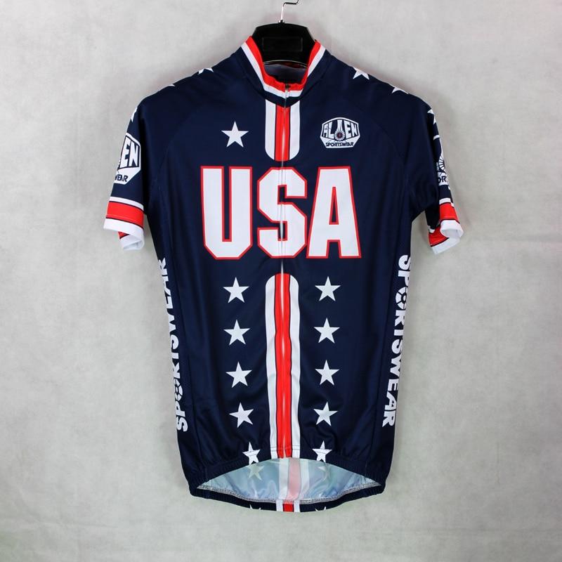 Alien SportsWear Mens Cycling Jersey Cycling Clothing Bike Shirt USA Flag  Size 2XS TO 5XL 33ac94594