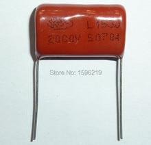 20pcs 153J 2KV 0.015uF CBB capacitor 153 2000V 15nF P24 CBB81 Metalizado Filme de Polipropileno Capacitor