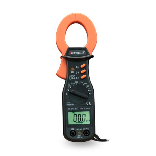 VICTOR DM3218+ Professional Digital Clamp Multimeter Resistance Meter victor 6050 digital clamp meter