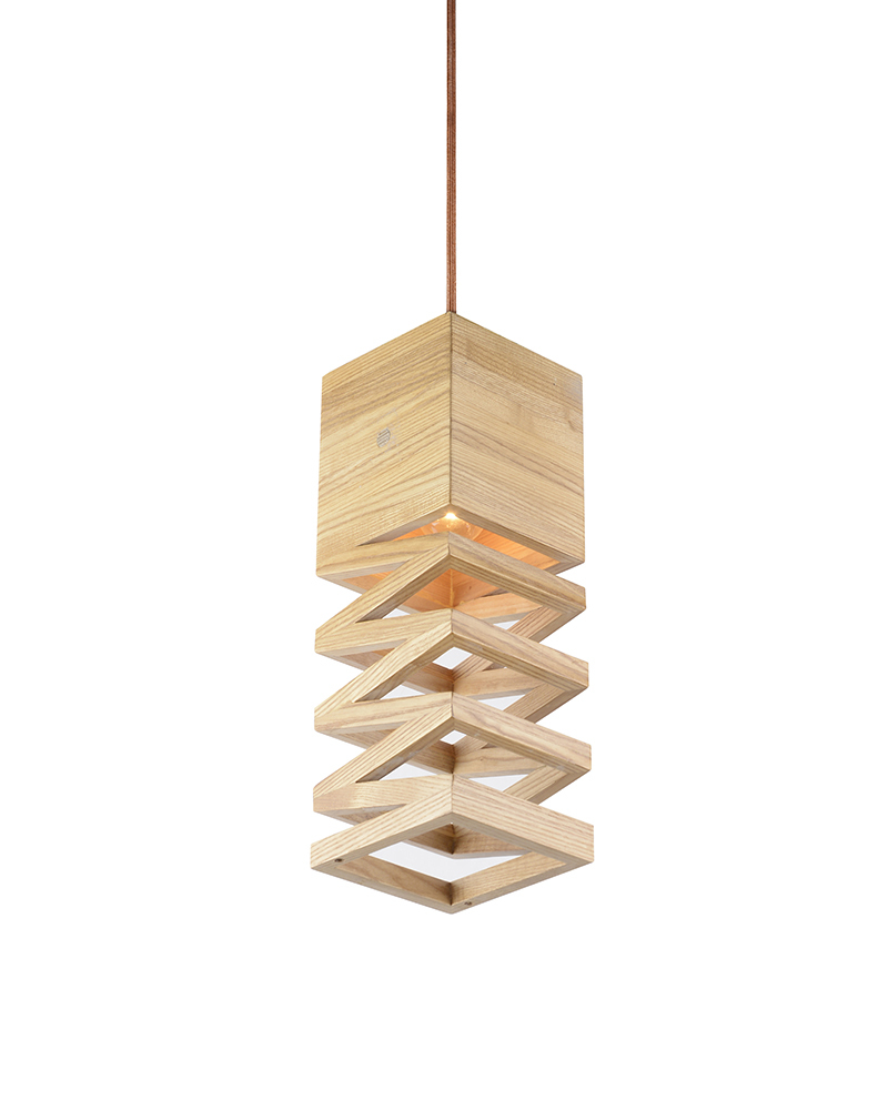 Hanging Lamp Design: EMS Free Ship E27 Pendant Light Wood Carved Spring Design