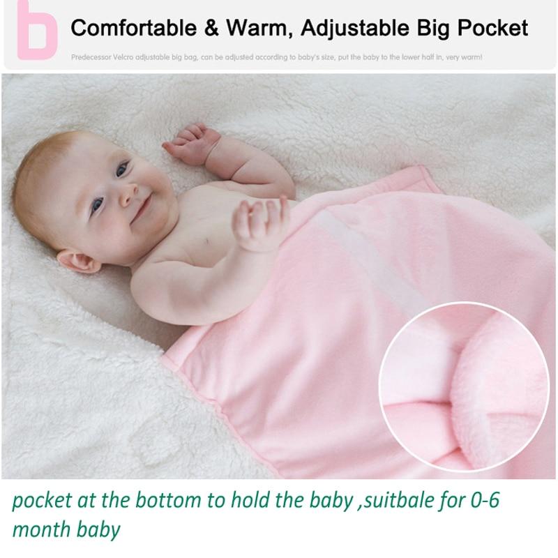NAET-cher-winter-warm-baby-sleeping-bag-soft-velvet-envelope-Newborn-envelope-receiving-Blanket-Sleeping-bag-infant-wrap-swaddle-2