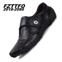 Men S 100 Genuine Suede Leather Driving Shoes New Moccasins Slip On Handmade Shoes Brand Design