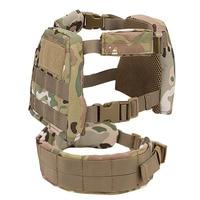 Kids Mini Airsoft Tactical Vest with Patrol Belt Molle Combat Vest XS/S CP Mulitcam