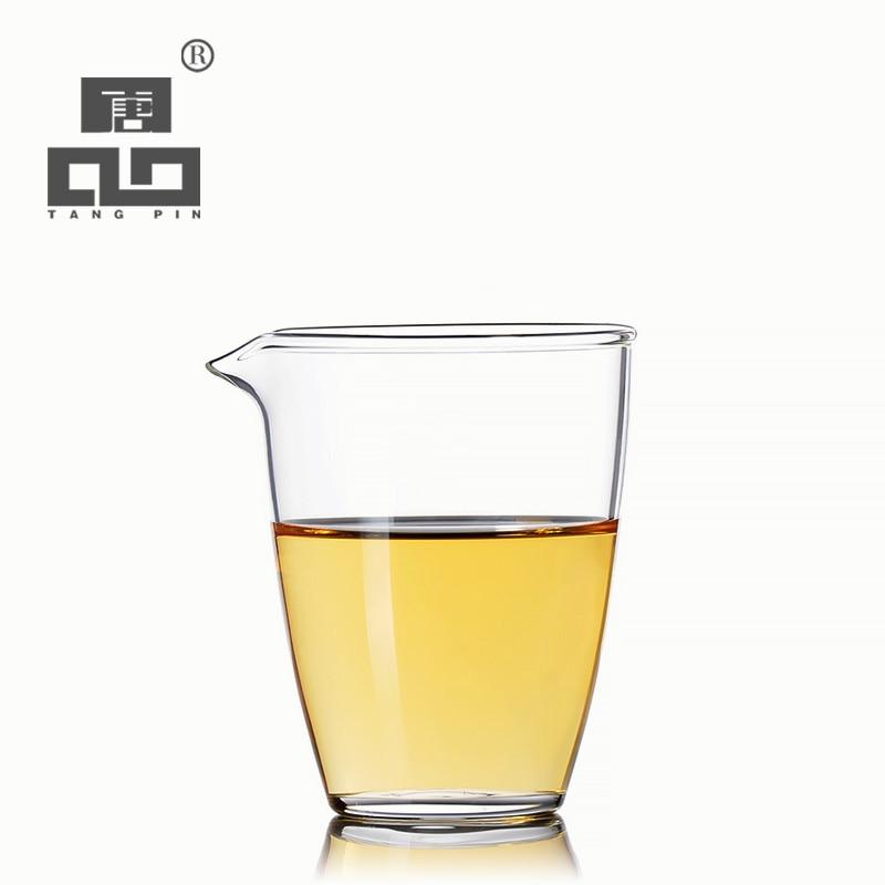 TANGPIN Heat-resistant Glass Tea Pitcher Glass Chahai Tea Cup Coffee Jug