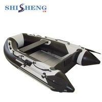 Best selling portable inflatable floats small PVC boat
