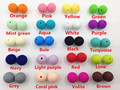 100pcs/lot Food Grade Silicone Teeth Beads DIY Necklaces Baby Bracelets Babies Chewing Jewelry Teethers Necklaces Mom Jewelry