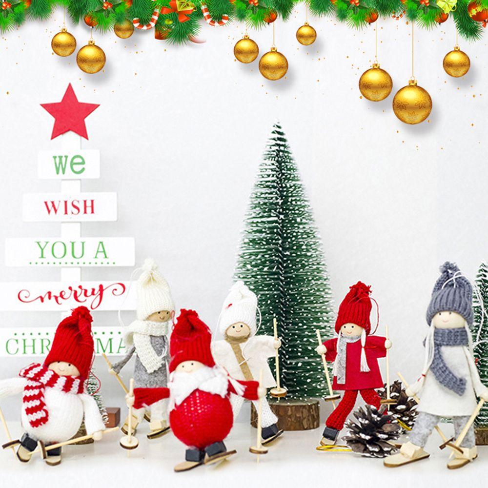 Lowered Creative Kawaii Christmas Angel Girl Ski Pendant Christmas ...