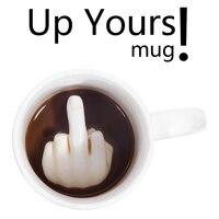 1 шт есть хороший день кружка кофе ваш керамические средний палец чашки кофе Личность офис подарки молоком Новинка подарки 350 мл