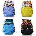 Jinobaby pañal de tela Eco Friendly Stay Dry interiores pañales para bebés lavables ajustables bolsillo del pañal para nb a 38 libras ( con el ) pañales pañales ecologicos pañal baby training pants