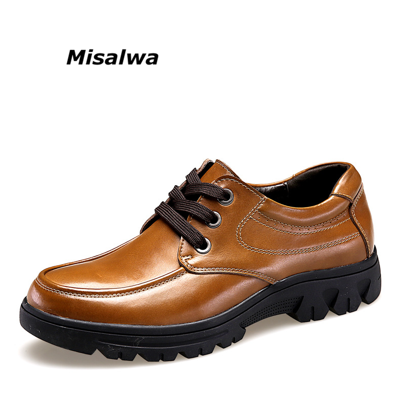 14 Spring For Sale: Man Business Casual Genuine Leather Shoes Spring Autumn
