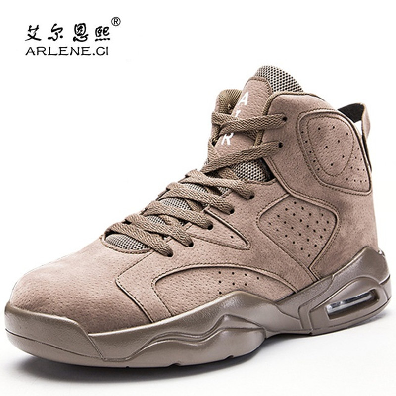 Basketball Shoes For Men Air Cushion Sports Shoes Basket Homme 2018 Hot Sale Luxury Brand Male Lace Up Breathable Athletic Shoes
